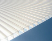Solexx greenhouse panels are twin walled for insulation and protection