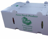 Sealed Fluted Produce Boxes